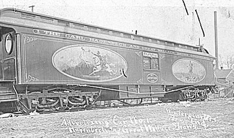 1903 : Wallace Brothers Circus Train Wrecks in Durand