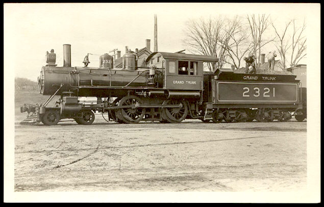 Engine #2321 and tender