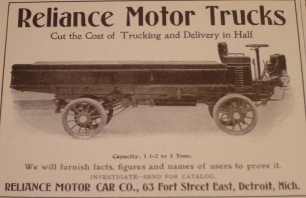 Below Is A 1908 Reliance Toy